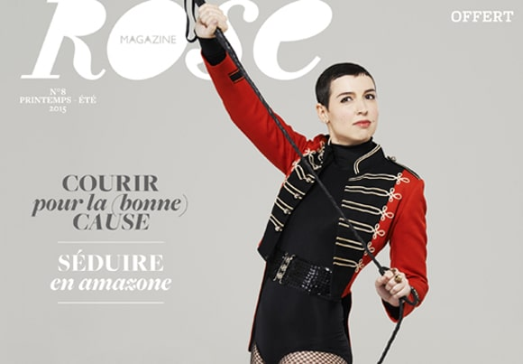 couverture du Magazine Rose