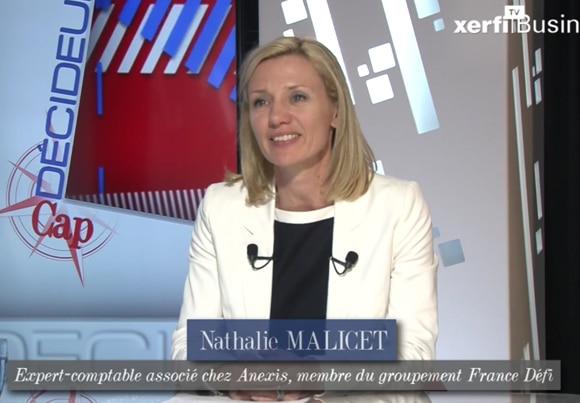 Nathalie Malicet, expert-comptable associé chez Anexis