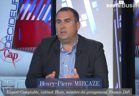 Henry-Pierre Miecaze, Expert-Comptable et dirigeant du cabinet Hexo, membre du groupement France Défi,