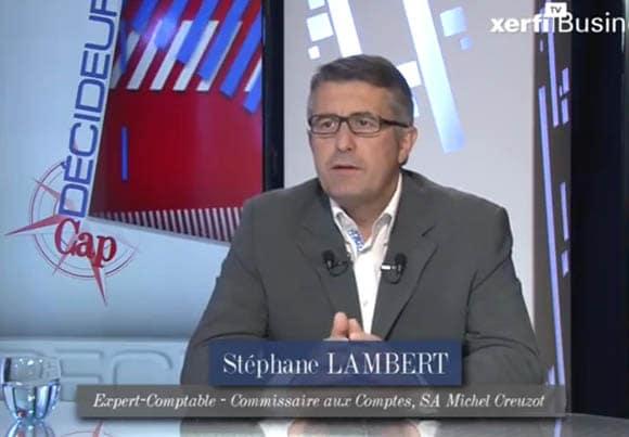 Stéphane Lambert, expert-comptable et commissaire aux comptes au sein de la SA Michel Creuzot