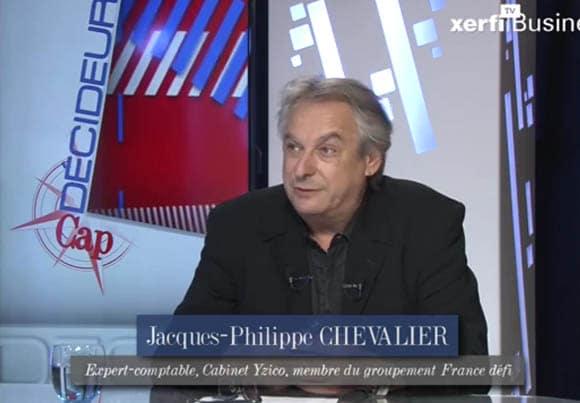 Jacques-Philippe Chevalier, expert-comptable au cabinet Yzico