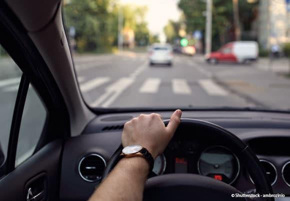 point de vue d'un conducteur