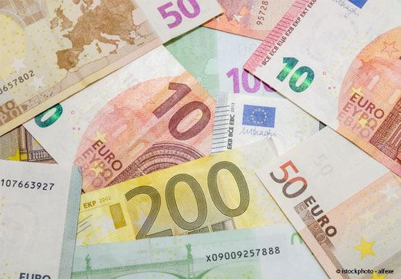 billets de banque en euros
