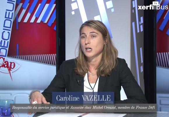 Caroline Vazelle, cabinet Michel Creuzot