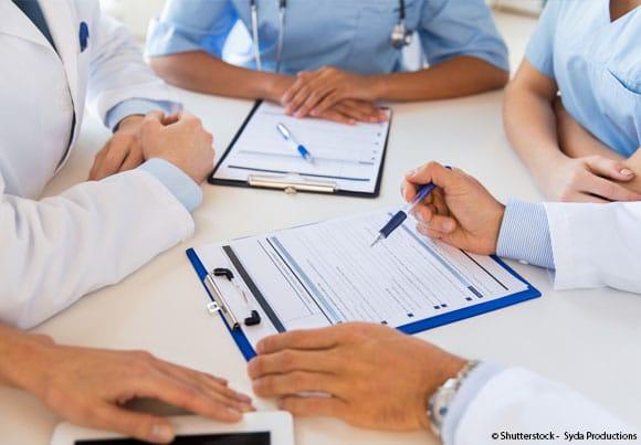 réunion de personnel médical