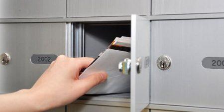 Le courrier papier est encore d'actualité